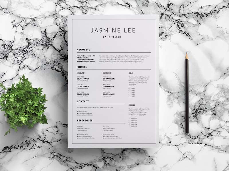 10 free bank teller resume template for impress recruiter