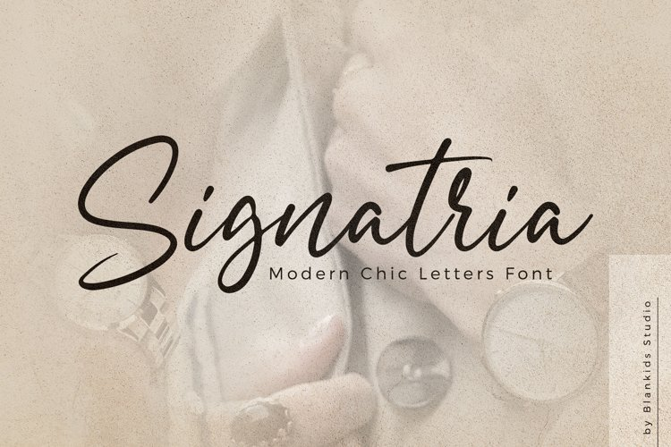 Signatria Font – Free Chic Letter Typeface