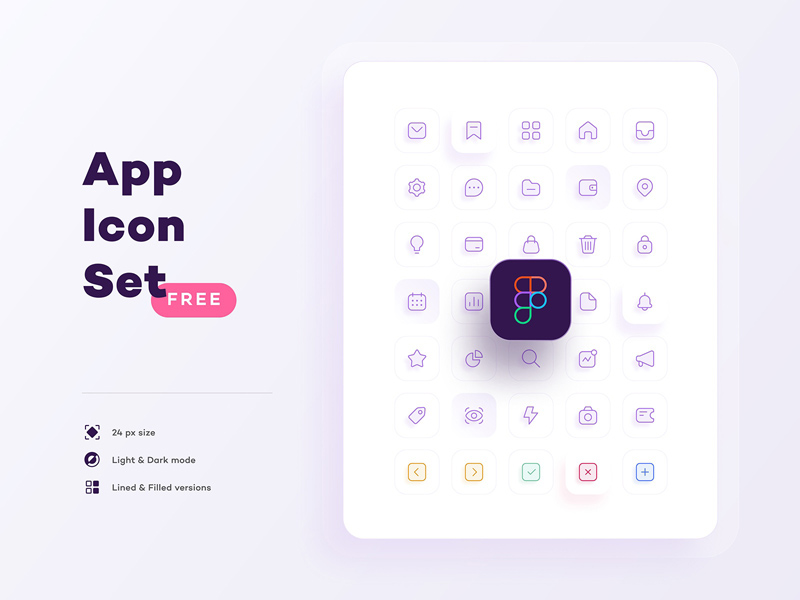 General Icon Set – Figma