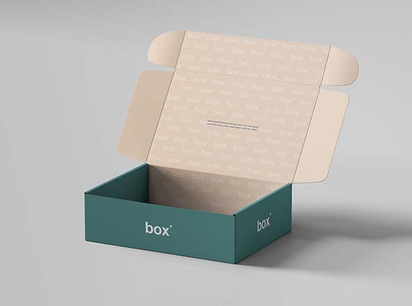 Pinch Lock Box Mockup PSD