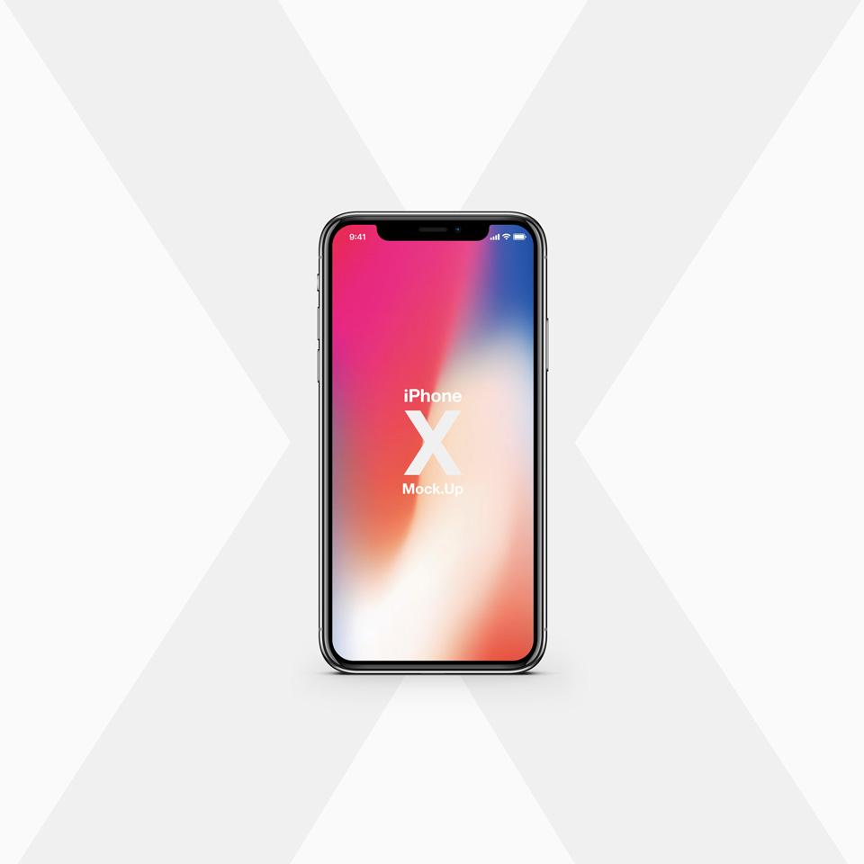 iPhone X Mockup Vector