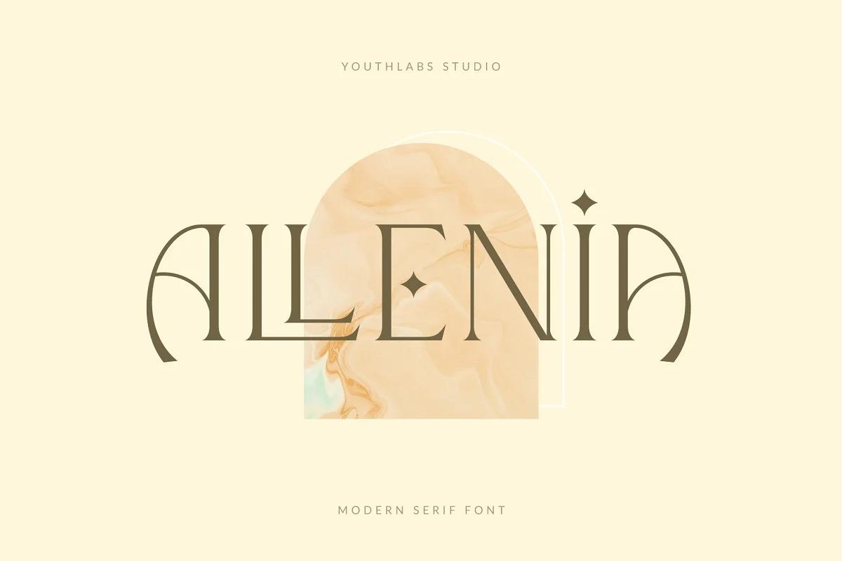 Allenia Font